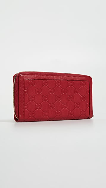 What Goes Around Comes Around Gucci Sukey Wallet