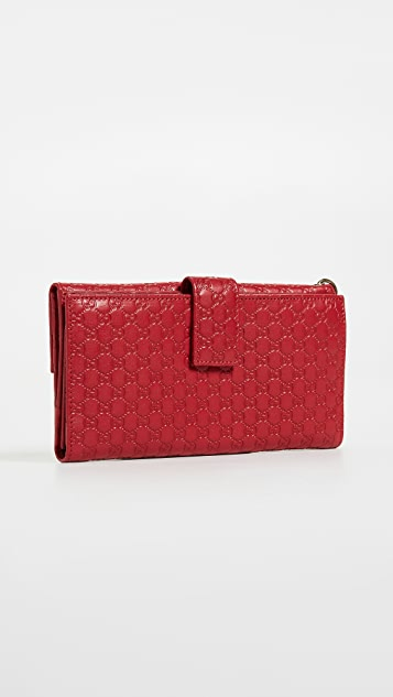 What Goes Around Comes Around Gucci Guccissima Wallet