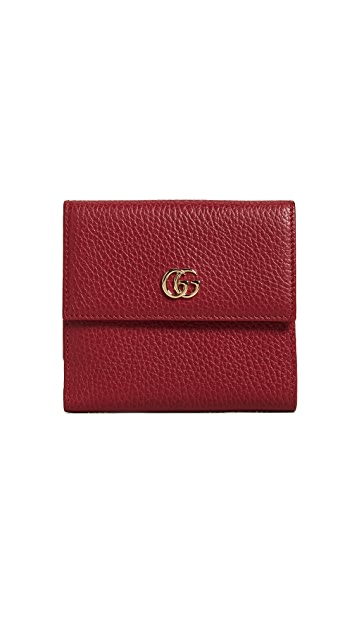 What Goes Around Comes Around Gucci French Flap Wallet