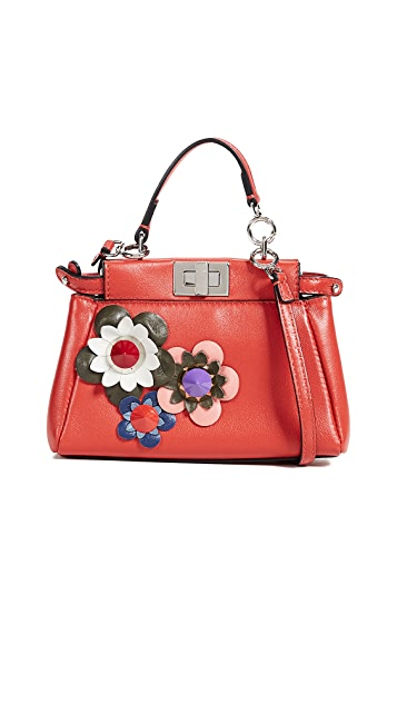 What Goes Around Comes Around Fendi Peekaboo Micro Bag
