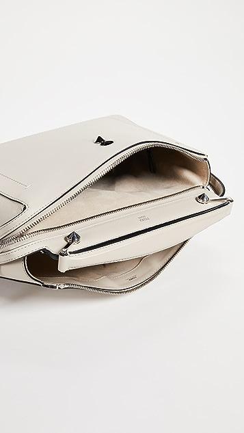 What Goes Around Comes Around Fendi Calfskin Dotcom Bag