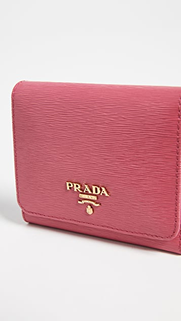 What Goes Around Comes Around Prada Wallet