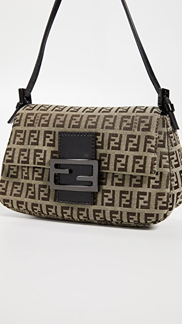What Goes Around Comes Around Fendi Zucchino Mama Mini Bag