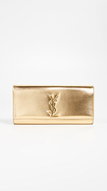 What Goes Around Comes Around YSL Cassandre Clutch - Gold