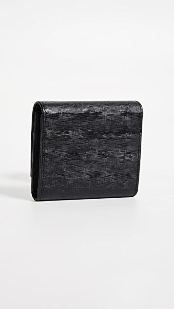 What Goes Around Comes Around Fendi Leather Wallet