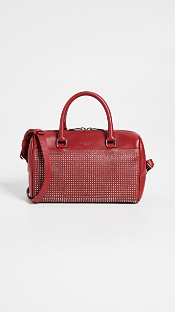 What Goes Around Comes Around YSL Studded Baby Duffel Bag