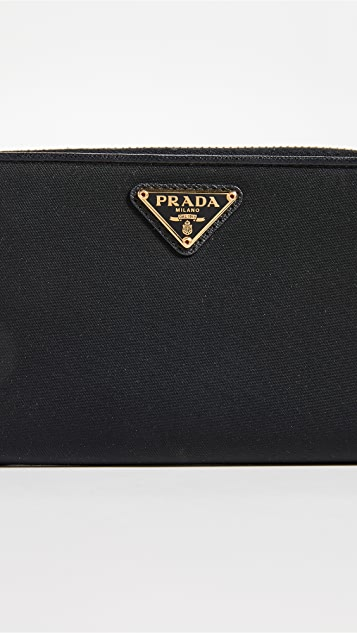 What Goes Around Comes Around Prada Nylon Wallet