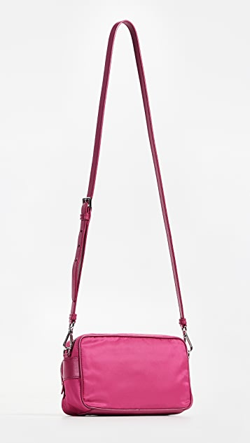 What Goes Around Comes Around Prada Tessuto Crossbody