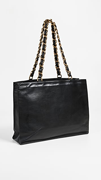 What Goes Around Comes Around Chanel Flat Chain Tote