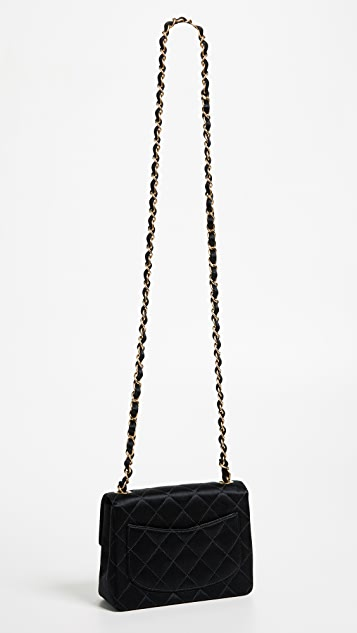 What Goes Around Comes Around Chanel Satin Half Flap Mini Bag