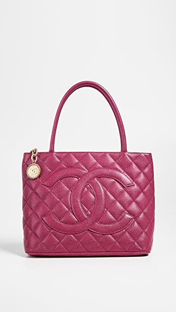 What Goes Around Comes Around Chanel Caviar Medallion Bag