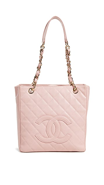 What Goes Around Comes Around Chanel Caviar Mini Shopper Tote