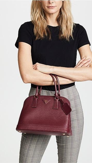 What Goes Around Comes Around Prada Saffiano Luxe Tote Bag