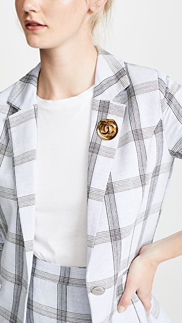 What Goes Around Comes Around Chanel CC Pin