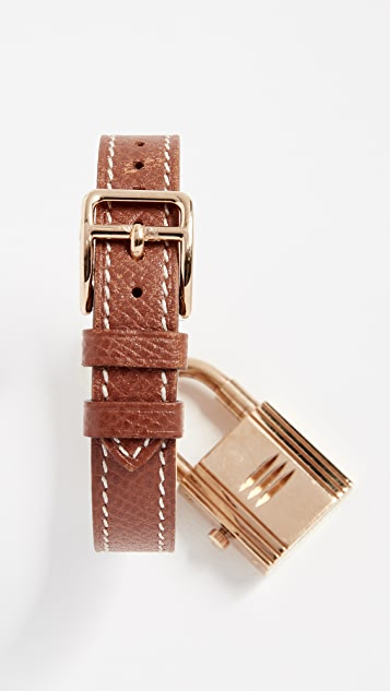 What Goes Around Comes Around 9mm Hermes Kelly Watch