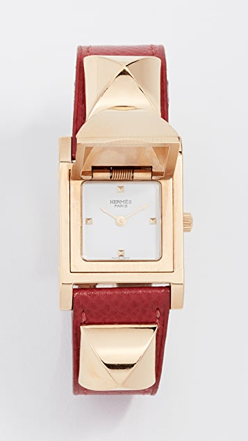 What Goes Around Comes Around Hermes Courchevel Medor Watch, 24mm