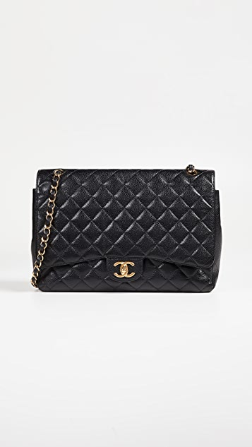 What Goes Around Comes Around Chanel Caviar Classic Maxi Bag