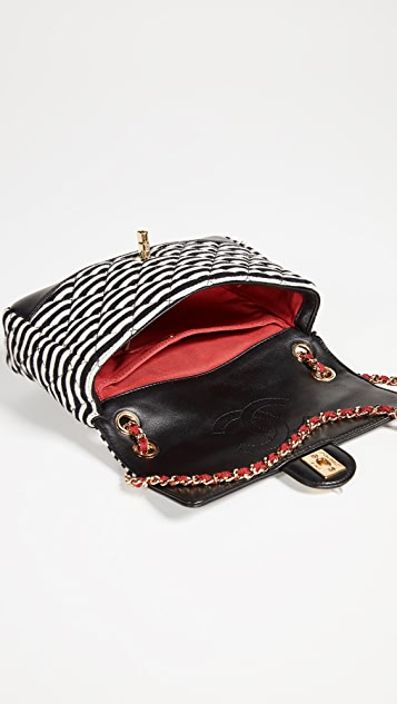 What Goes Around Comes Around Chanel Small Knit Bag