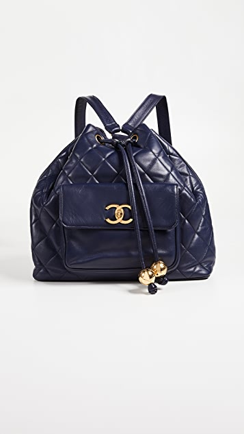 What Goes Around Comes Around Chanel Large Backpack
