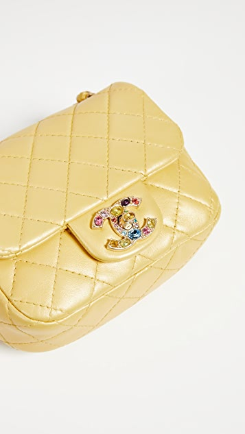 What Goes Around Comes Around Chanel Half Flap Mini Bag