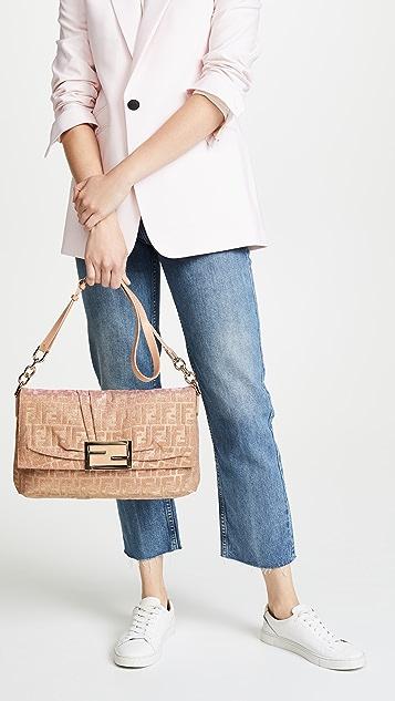 What Goes Around Comes Around Fendi Lurex Shoulder Bag
