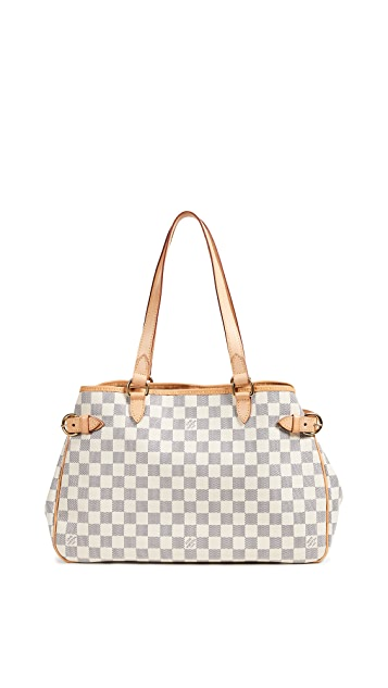 What Goes Around Comes Around Louis Vuitton Damier Azure Batignolles Horizontal Tote