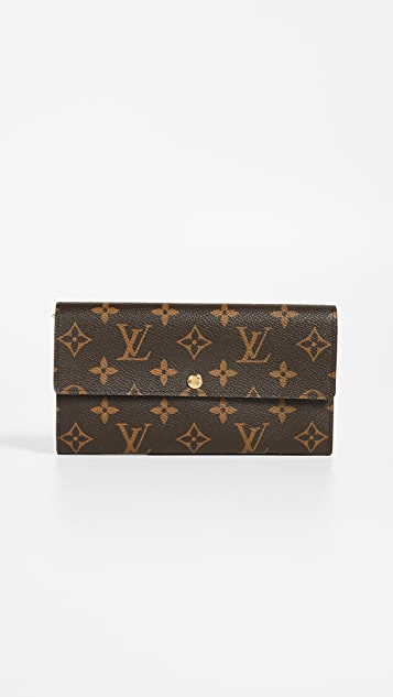 What Goes Around Comes Around Louis Vuitton Monogram Sarah Wallet