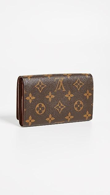 What Goes Around Comes Around Louis Vuitton Monogram Tresor Wallet