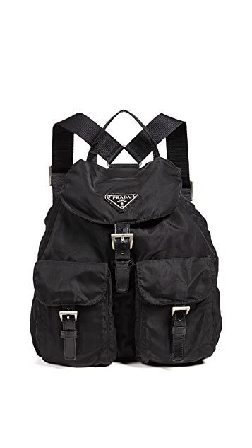 What Goes Around Comes Around Prada Nylon Backpack