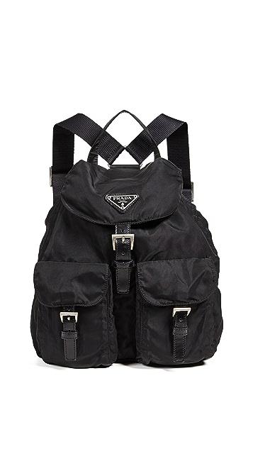 19fbafa7c2b0 ... What Goes Around Comes Around Prada Nylon Backpack