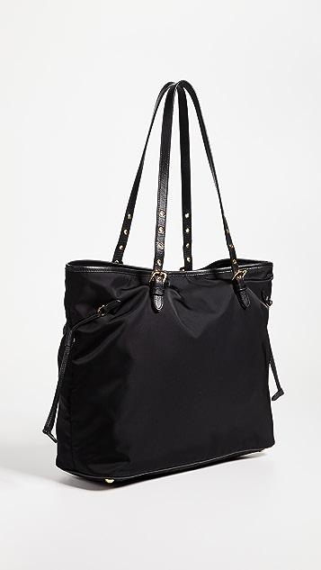 What Goes Around Comes Around Prada Tessuto Tote Bag