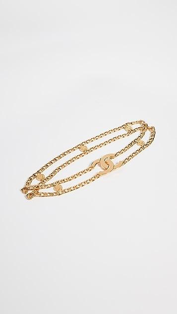 What Goes Around Comes Around Chanel CC Chain Belt