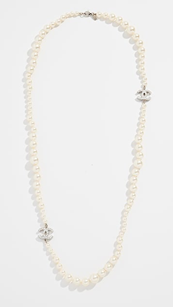 What Goes Around Comes Around Chanel Imitation Pearl Necklace