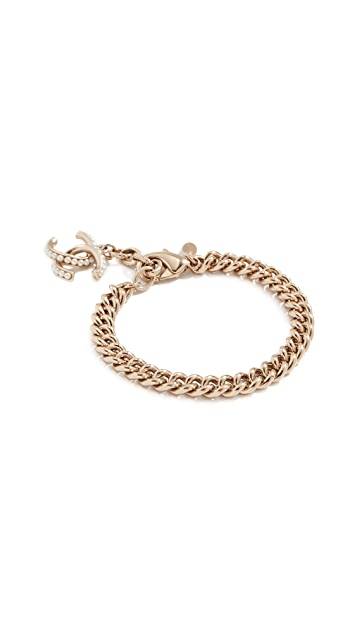 What Goes Around Comes Around Chanel CC Bracelet