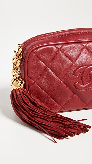 What Goes Around Comes Around Chanel Red CC Mini Bag