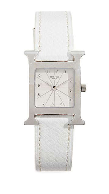What Goes Around Comes Around Hermes H Hour Watch