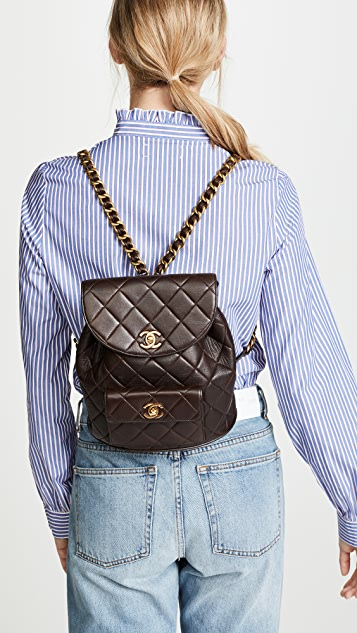 b7eab661bd1c35 What Goes Around Comes Around Chanel Classic Backpack | SHOPBOP