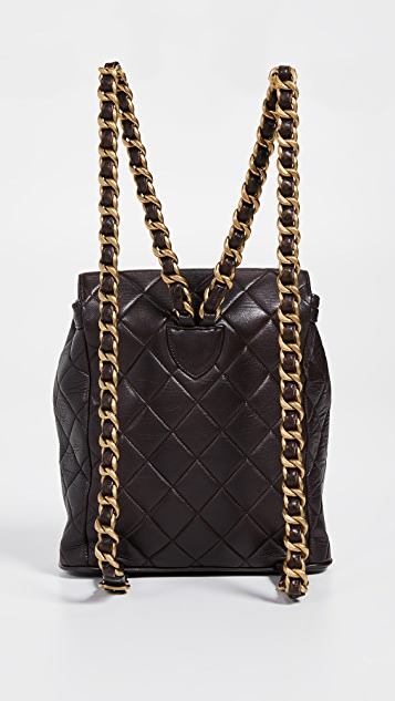7b7323e40069 What Goes Around Comes Around Chanel Classic Backpack | SHOPBOP
