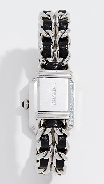 What Goes Around Comes Around Chanel Silver Premiere Watch, 20mm