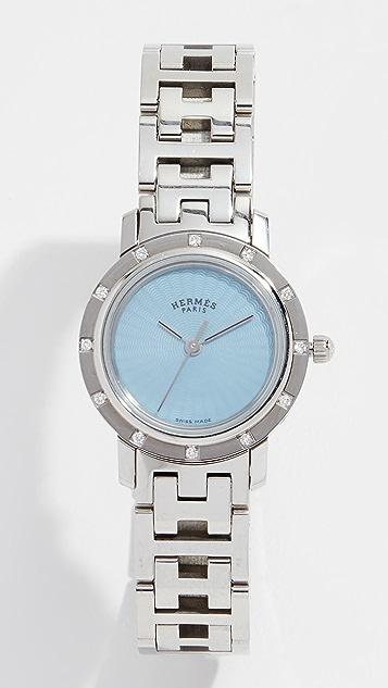 Hermes Dia Clipper PM Watch, 24mm