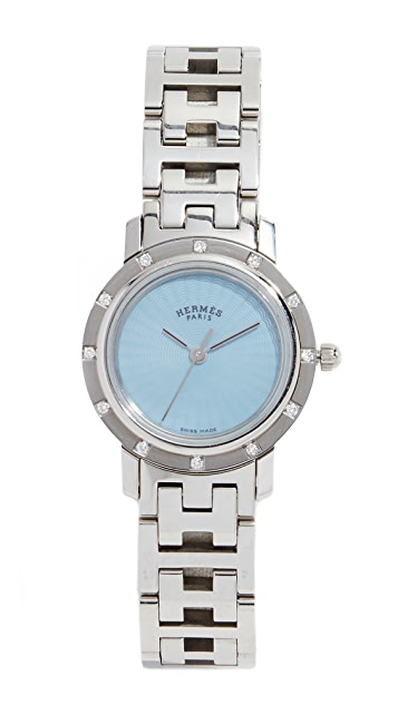 What Goes Around Comes Around Hermes  Dia Clipper PM Watch, 24mm