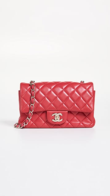 What Goes Around Comes Around Chanel Pink Half Flap Small Bag