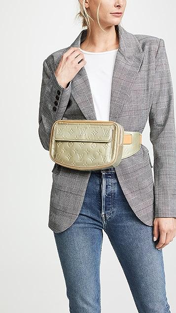 What Goes Around Comes Around LV Green Vernis Fulton Waist Bag