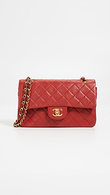 What Goes Around Comes Around Chanel Lambskin Classic Flap Bag