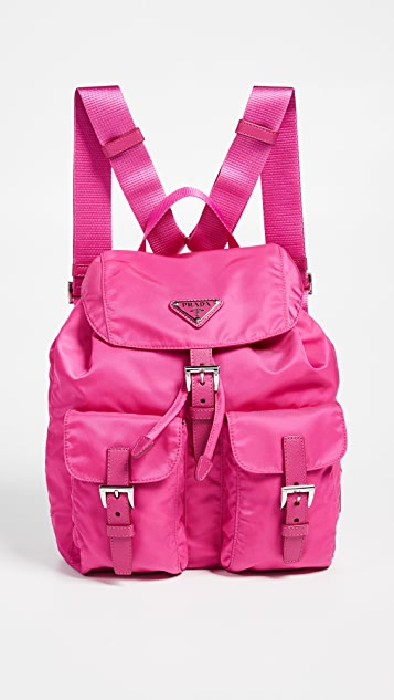 077354501d3d What Goes Around Comes Around Prada Pink Nylon Backpack | SHOPBOP