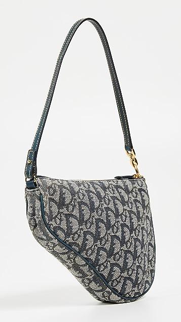 What Goes Around Comes Around Миниатюрная седельная сумка Dior Trotter
