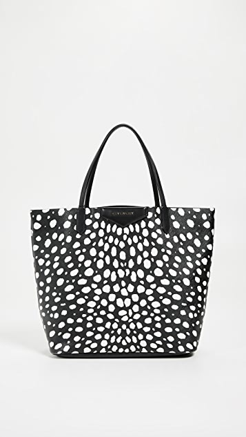 What Goes Around Comes Around Givenchy Coated Canvas Antigona Medium Tote Bag