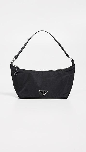 6882e74961 What Goes Around Comes Around Prada Nylon Small Shoulder Bag