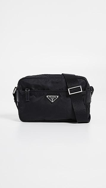 78f0bfcec782 What Goes Around Comes Around Prada Nylon Small Shoulder Bag