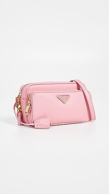 fddf43b85daf What Goes Around Comes Around Prada Saffiano Lux Crossbody Bag | SHOPBOP